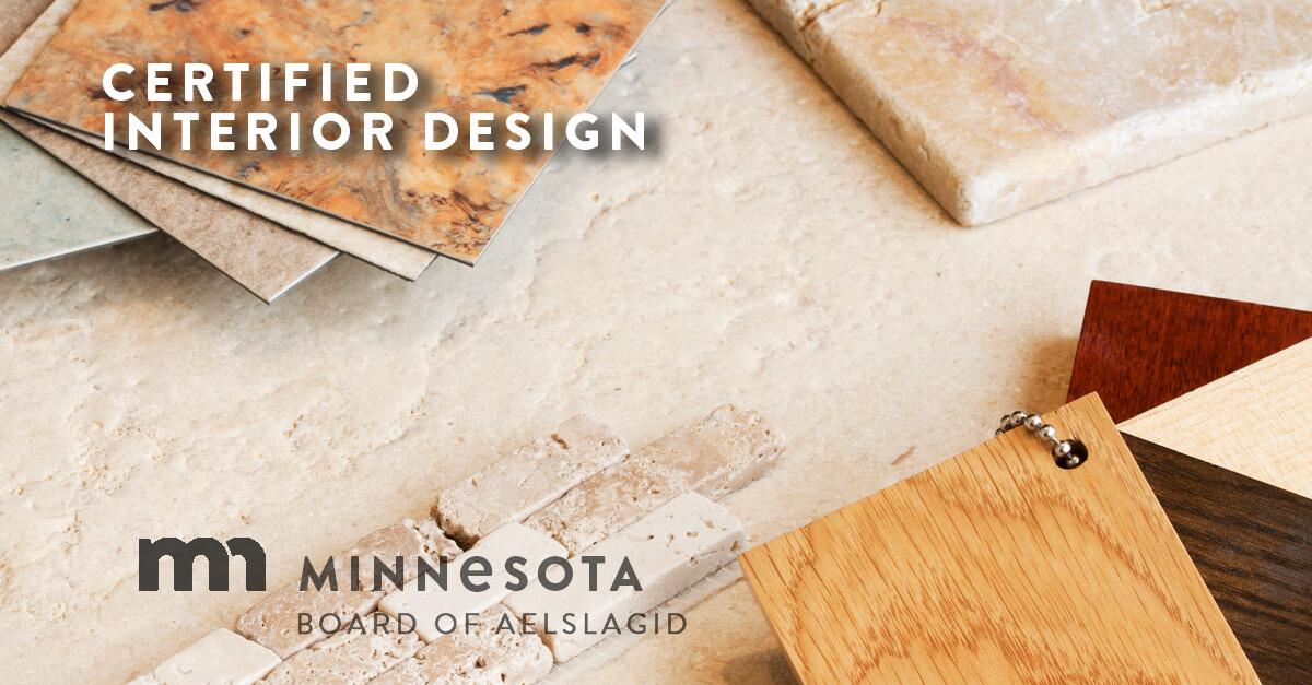 certified interior design minnesota board of architecture