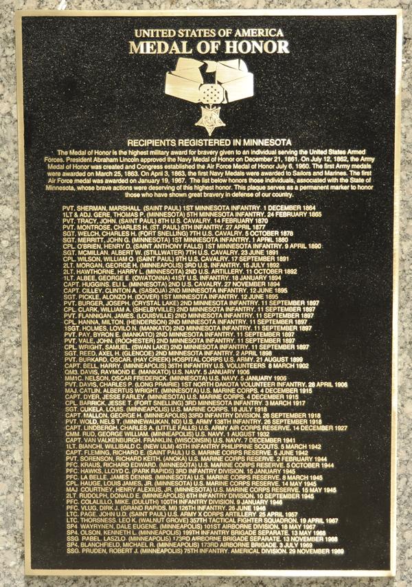 minnesota medal of honor