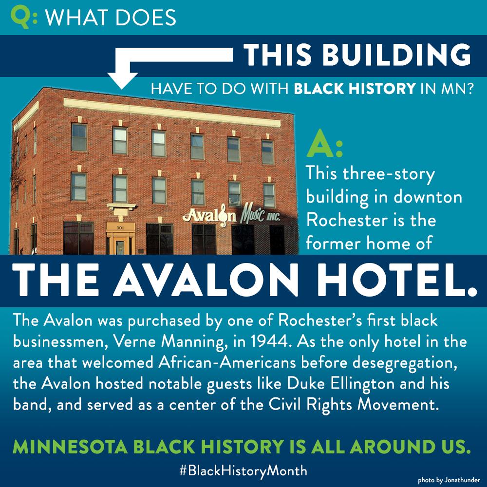 Black History Month: Avalon Hotel