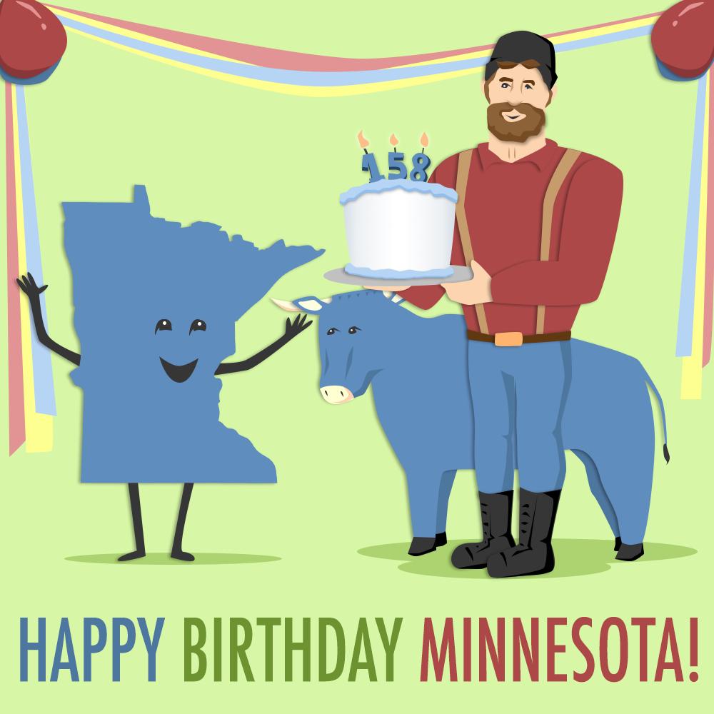 Happy Birthday, Minnesota!